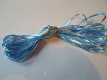 Baby Light Blue Satin ribbon Double sided, 3mm 7mm 10mm 15mm 25mm 38mm 50mm Roll Bow